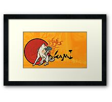 Amaterasu from Okami Framed Print