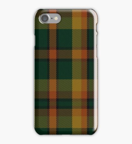 00336 Londonderry County District Tartan  iPhone Case/Skin