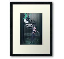 Dark Fairy Framed Print