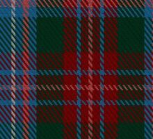 00339 Louth County District Tartan Sticker