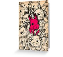 BUNNIES GALORE! Greeting Card
