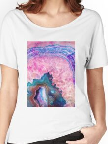 Agate #redbubble #lifestyle Women's Relaxed Fit T-Shirt