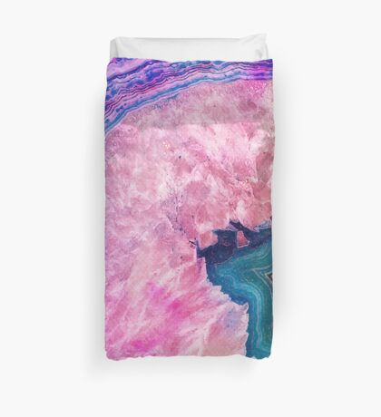 Agate #redbubble #lifestyle Duvet Cover