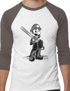 LET THE SMASH BEGIN. Men's Baseball ¾ T-Shirt