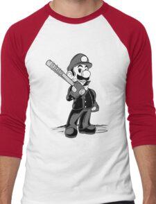 LET THE SMASH BEGIN. Men's Baseball ¾ T-Shirt