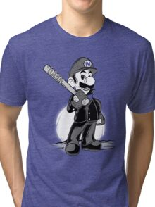 LET THE SMASH BEGIN. Tri-blend T-Shirt