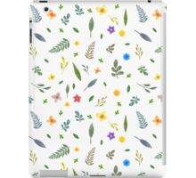 Flowers and Leaves iPad Case/Skin