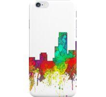 Newark, New Jersey Skyline - SG iPhone Case/Skin