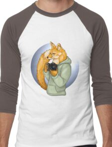 Photographer Fox Men's Baseball ¾ T-Shirt