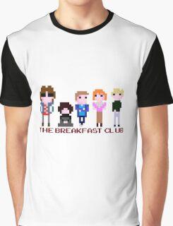 8-bit The Breakfast Club  Graphic T-Shirt