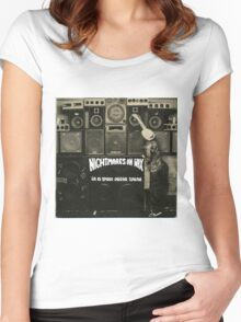 NIGHTMARES ON WAX IN A SPACE OUTTA SOUND Women's Fitted Scoop T-Shirt