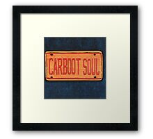 NIGHTMARES ON WAX CARBOOT SOUL Framed Print
