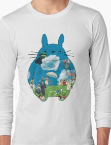 Ghibli - Miyazaki universe - Totoro Long Sleeve T-Shirt