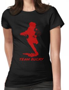 Team Bucky (Red) Womens Fitted T-Shirt