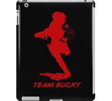 Team Bucky (Red) iPad Case/Skin