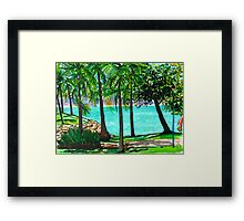 View to Maggie Framed Print