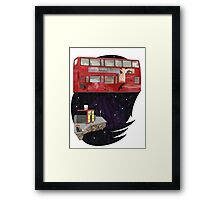 bus stop Framed Print