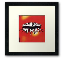 NIGHTMARES ON WAX LOGO Framed Print