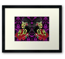 Queen of the dead Framed Print
