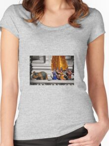 Figurines Women's Fitted Scoop T-Shirt