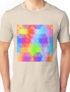 Rainbow pattern Unisex T-Shirt