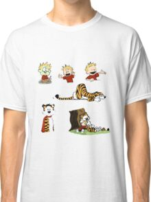 calvin_and_hobbes_all Classic T-Shirt