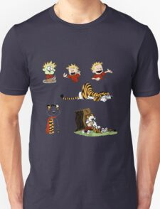 calvin_and_hobbes_all Unisex T-Shirt