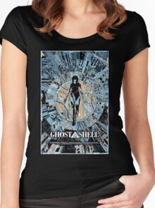 GHOST IN THE SHELL TSHIRT Women's Fitted Scoop T-Shirt