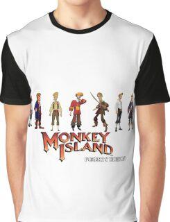Monkey Island Guybrush - Puberty Edition  Graphic T-Shirt
