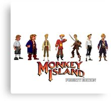 Monkey Island Guybrush - Puberty Edition  Canvas Print