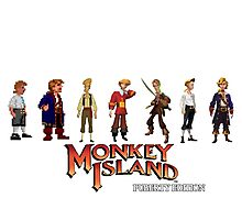 Monkey Island Guybrush - Puberty Edition  Photographic Print