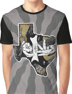 Texas Guitar Graphic T-Shirt