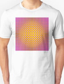 Vasarely style Unisex T-Shirt