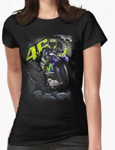 The Winning Motorbike Racer Womens Fitted T-Shirt