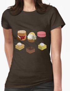 Desserts platter Womens Fitted T-Shirt
