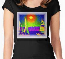 Summer Fun Women's Fitted Scoop T-Shirt