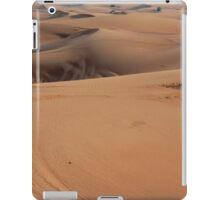 Sand dunes in the desert. iPad Case/Skin
