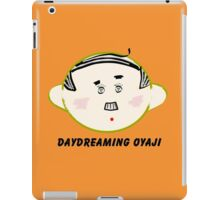 Daydreaming Oyaji iPad Case/Skin