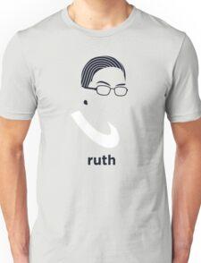 Ruth Bader Ginsburg (Hirsute History) Unisex T-Shirt