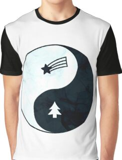 Gravity Falls Yin Yang Graphic T-Shirt