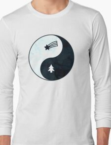 Gravity Falls Yin Yang Long Sleeve T-Shirt