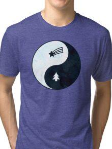 Gravity Falls Yin Yang Tri-blend T-Shirt