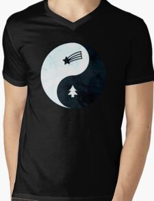 Gravity Falls Yin Yang Mens V-Neck T-Shirt