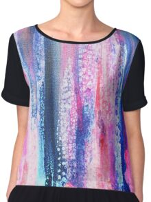 Abstract #8 Chiffon Top