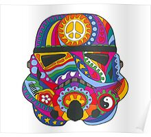 Psychedelic Mask Poster