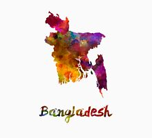 Bangladesh in watercolor Unisex T-Shirt