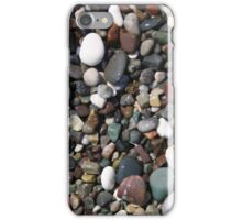 Black and white rock beach  iPhone Case/Skin