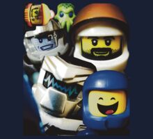 Lego Space has advanced over the years! Kids Tee