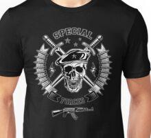 Special forces monochrome emblem Unisex T-Shirt