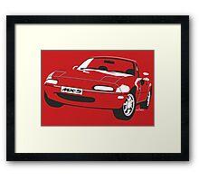 Mazda MX-5 Miata Framed Print